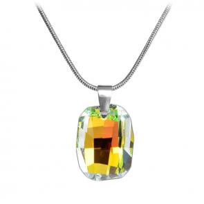 "Дамско колие ""Graphic"" с многоцветен кристал Сваровски"