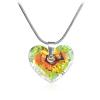 "Дамско колие ""Truly in Love"" Crystal AB с многоцветен кристал Сваровски. Код: SE3."